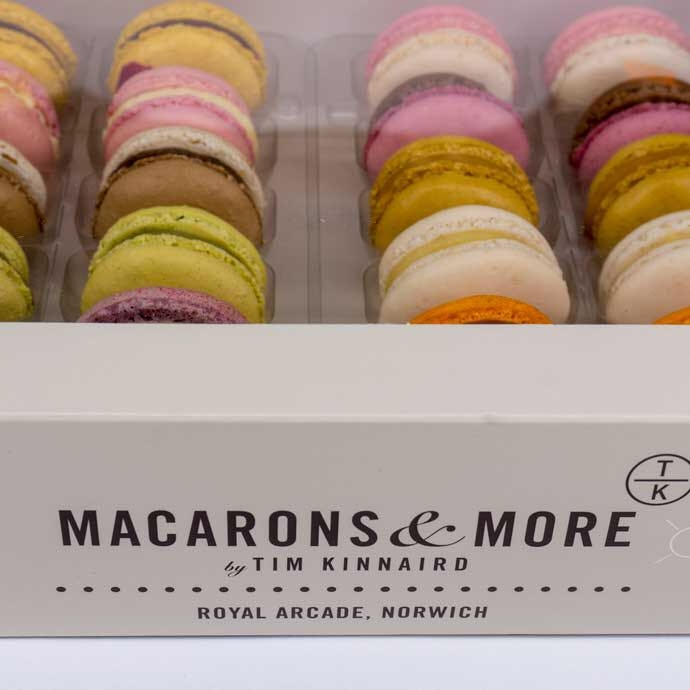 big box macarons