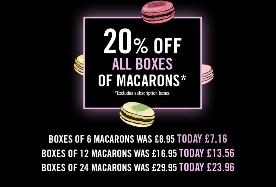 Macarons Black Friday Deals