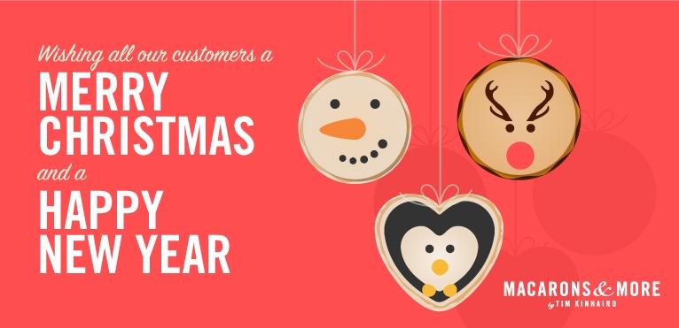 Merry Christmas Macarons