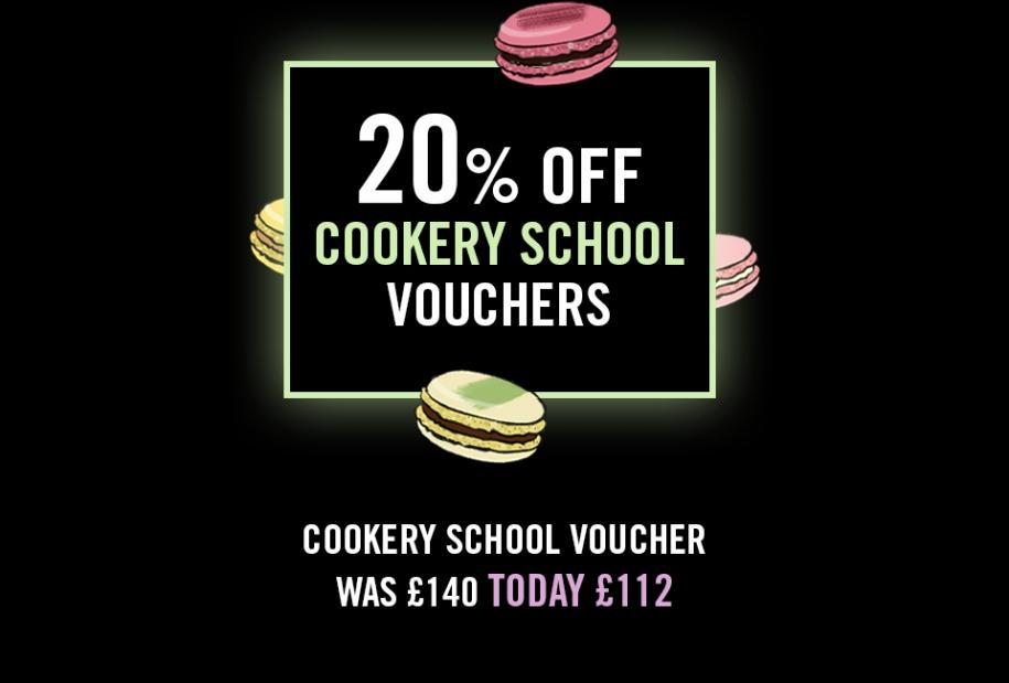 Macarons Cookery School Voucher Black Friday