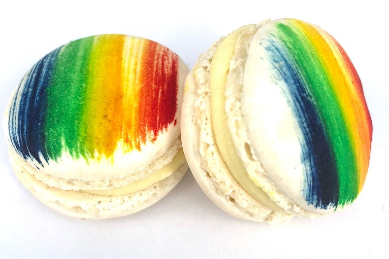 Pride Macarons