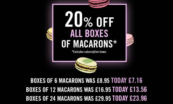 Macarons Black Friday Deals