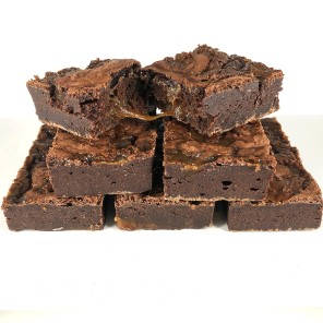 Oozy Salted Caramel Brownies - Box of 6