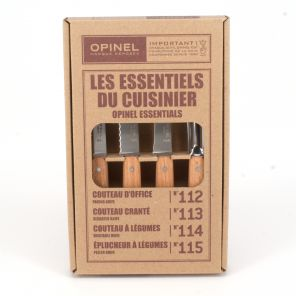 4 Knife Set Opinel