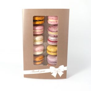 Thank You - Box of 12 Macarons