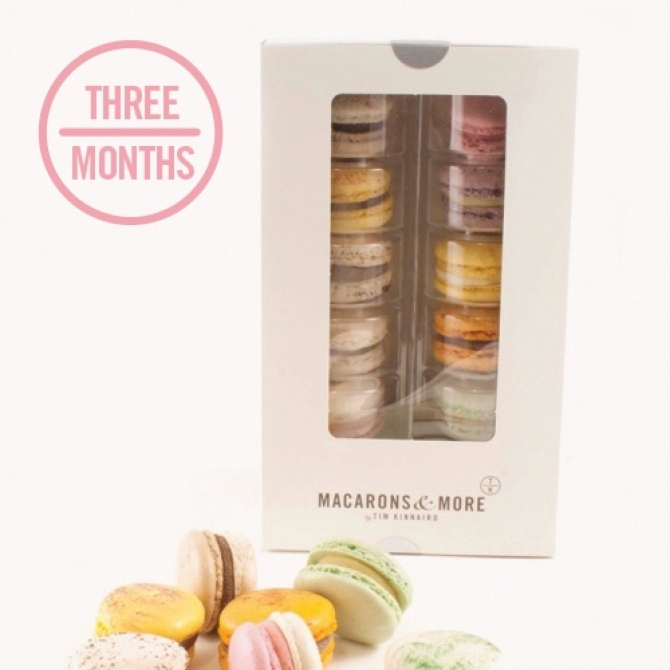 Macaron Subscription - 3 Months