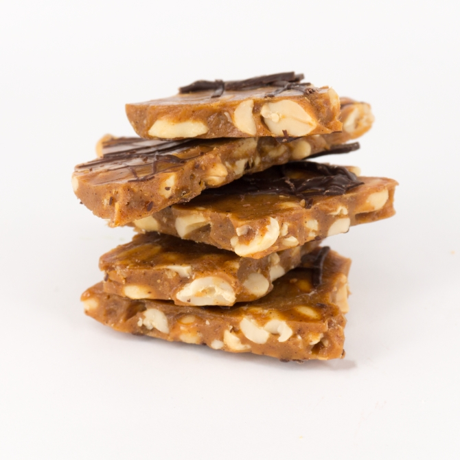Spiced Peanut Brittle (150g)