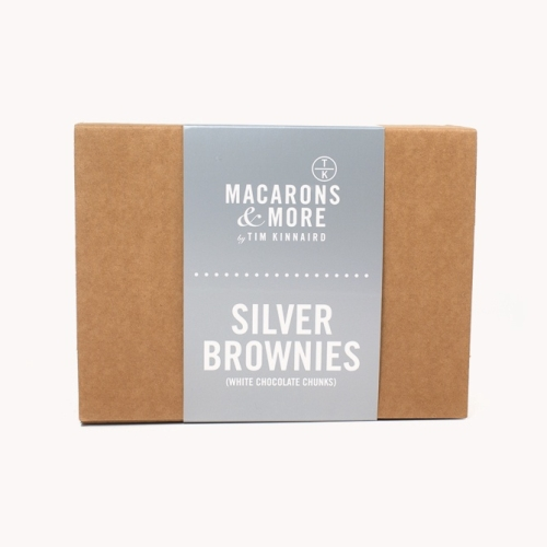 White Chocolate Chip (Silver) Brownies - Box of 6