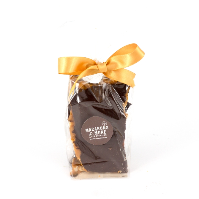 Chocolate Coated Peanut Brittle (150g)