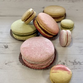 Large Macarons - Mixed Box of 4