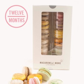 Macaron Subscription - 12 Months